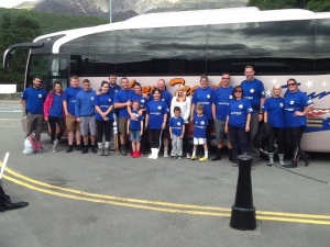 Anthony's Travel Mark Gorry Foundation annual Snowdon climb